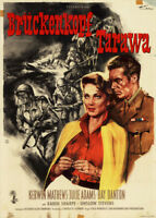 Brückekopf Tarawa ORIGINAL A1 Kinoplakat Kerwin Mathews / Julie Adams / GOETZE