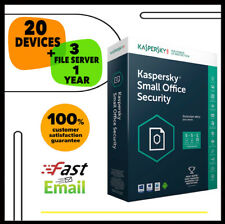 Kaspersky Small Office Security 7 2020 - 20 Device 3 File Sever | 1 Year GLOBAL