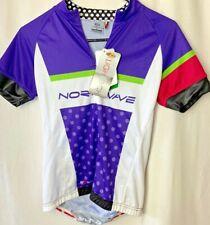 New Northwave Lightech Women's Cycling Jersey Shirt Size Large Purple White Nwt