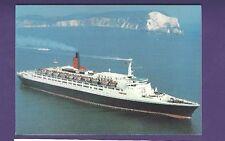 RMS Queen Elizabeth 2 Postcard - Cunard Line