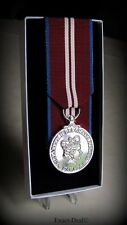 Canadian Queen Elizabeth Diamond Jubilee Full Size Court Mounted Replica Medal
