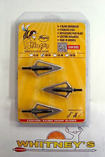 Magnus - Stinger 4 blade Broadhead- 100 Grain - 3 Pack - MASS100-4