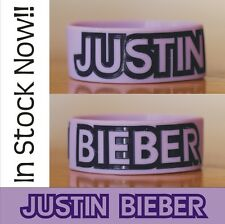 Justin Bieber Wristband Bracelet For Fans Bieber Fever Beliebers Free Shipping