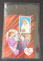 """MINT I Love Lucy Stamps """"The Proposal"""" LE Commemorative Sheet COA Issue Mali"""