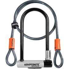 Kryptonite KryptoLok Standard U-Lock With 4 Foot Kryptoflex Cable