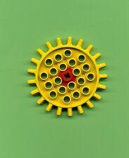 Lego--572-- Zahnrad -- 21 Zähne -- Gelb --