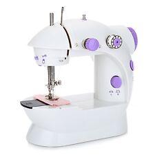 New Portable LED Electric/Battery Powered Handheld Mini Stitch Sewing Machine UK