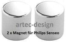 2 x Magnet für Senseo HD 7850 7852 7853 7854 - vernickelt & wasserresistent -