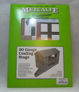 A METCALFE PREMIUM CARD BUILDING, COALING STAGE OO GAUGE. BRAND NEW IN PACK...