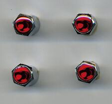ThunderCats 4 Chrome Plated Brass Tire Valve Caps Car & Bike ThunderCats