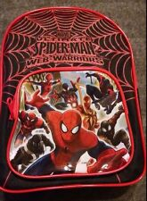"""Marvel Ultimate Spiderman Coloring Activity Backpack 10"""" Watercolor Fun Pack New"""