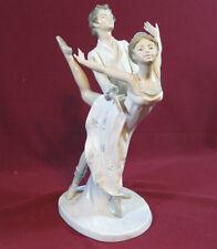 "NAO Lladro Figurine ""Dancing on a Cloud"" 1983 Porcelain, Ballet Couple 12½"" SP1"