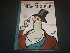 1972 FEBRUARY 26 NEW YORKER MAGAZINE - BEAUTIFUL FRONT COVER - O 6645