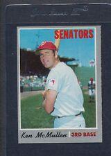 1970 Topps #420 Ken McMullen Senators EX *1500