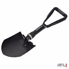 Faithfull All-Steel Folding Round Head Shovel 570mm - Winter Car Emergency Spade