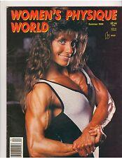 WOMEN'S PHYSIQUE WORLD female muscle magazine/Karen Pica Summer 1989