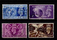 Vintage GB George VI Olympic Games set nice used