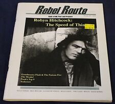 Rebel Route #1 Autumn 1997 Issue - Rare Music Zine Robyn Hitchcock The Monks