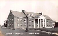 Real Photo Postcard Masonic Hospital in Alma, Michigan~122744