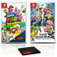 Super Mario 3D World + Bowser's Fury  with Super Smash Bros - Nintendo Switch