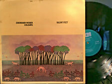 "jazz EBERHARD WEBER ""COLOURS-SILENT FEET"" LP GERMANY NEAR MINT w/BOOKLET"