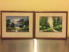 A Pair of Landscape Watercolors