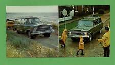 VTG 1970 Advertising Jeep Wagoneer Postcard 1971 Model Mint! N