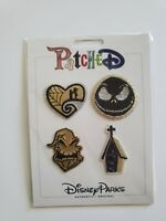 Disney Parks Patched Nightmare Before Christmas Patch Set Adhesive Oogie Jack