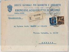 47282  - ITALIA RSI:  storia postale - BUSTA con affrancatura mista REGNO PA