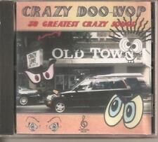 CRAZY DOO WOP - CD - 30 Greatest Crazy Songs - BRAND NEW