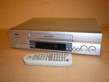 SILVER JVC VIDEO TAPE PLAYER/RECORDER VCR SUPER ET VHS HR-S5955