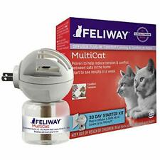 Feliway MultiCat Calming Diffuser Kit   Vet Recommended   Reduce Cat Fighting
