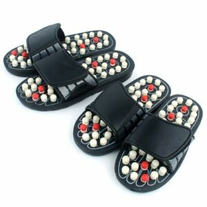 Acupuncture Massage Slippers Reflexology Acupressure Sandals Therapy Foot Shoes