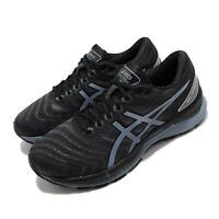 Asics Gel-Nimbus 22 Black Grey Floss Men Running Shoes Sneakers 1011A680-004