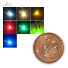 Mini SMD Leuchtdioden, Typ 0603, SMDs LEDs Farben/Mengen zur Wahl, mikro LED