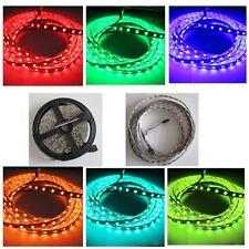 LED stripe tiras cinta SMD RGB 5050 5m de 300 LEDs ip65 +44 keys controlador nuevo