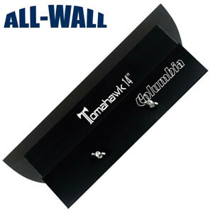 "Columbia 14"" Tomahawk Stainless Drywall Smoothing Blade Wipedown Finish Knife"