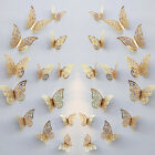 24pcs 3d Diy Wall Decal Stickers Butterfly Home Room Art Decor Decorations Au