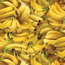 Elizabeth's Studio Food Festival 461 Banana 100% cotton fabric by the yard