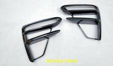 FOR 2019 2020 Kia Forte ABS Carbon fiber style front fog light frame 2PCS