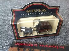 Guinness Stout Vintage Models 2 Horse Drawn Carriage 1:72 Delivery Van Boxed