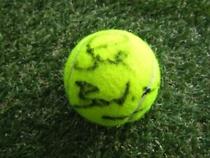 Sue Barker Hand Signed Wimbledon 2013 Game Used Tennis Ball - Autograph