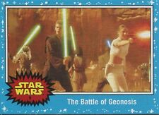 Star Wars Journey To The Force Awakens Base Card #9 The Battle of Geonosis