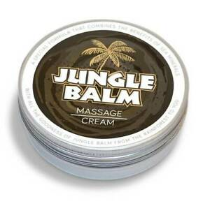 Jungle Balm Massage Cream & 1 (10ml bottle) Jungle Balm for FREE Limited time