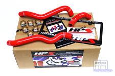 HPS Reinforced Silicone Heater Hose Kit For 03-06 350Z Z33 3.5 V6 VQ35de LHD Red