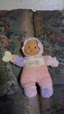"12"" Berenguer Babies Lil Hugs Baby Doll G 00004000 Irl Rattle Stuffed Animal Plush Toy"