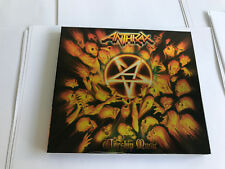 ANTHRAX-WORSHIP MUSIC LTD DELUXE DIGIPAK WORSHIP MUSIC -LTD CD MINT