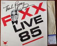 Redd Foxx PSA DNA Coa Signed Foxx Live 85 Album W/ Vinyl Autograph