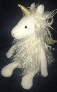 "Aurora White Long Hair 13"" ESSIE Plush Llamacorn Llama Winged Unicorn Angel 2018"