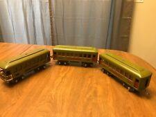 HO Train Passenger Car Set of 3 New Haven Vintage Observation Pullman Rail